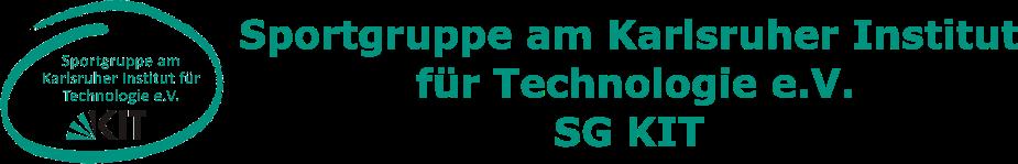 Sportgruppe am Karlsruher Institut für Technologie e.V. (SG KIT)